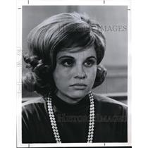 1964 Press Photo Lynn Loring stars in The Defenders - orp17739