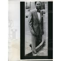 1952 Press Photo of Dean Mitchell Grey, the first person of colour that was