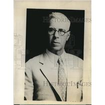 1925 Press Photo AP Lang AFL speaker