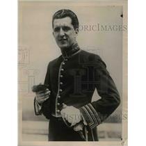 1922 Press Photo George Pezet actor & nephew of Peru Ab to US