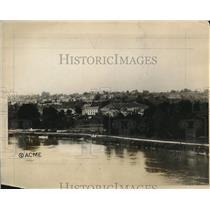 1927 Press Photo Mt St Pers France rebuilt after the war