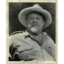 1964 Press Photo Burl Ives stars in The Spiral Road - orp16205