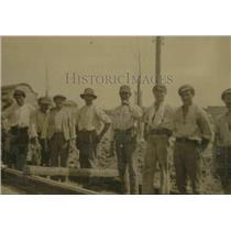 1928 Press Photo France imports common laborers from Morocco, Spain, Belgium