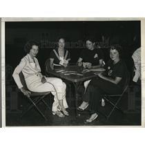 1934 Press Photo Mrs.Stengel,Mrs.Scranton,Mrs.Hilliard and Mrs.Kalman