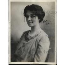 1921 Press Photo of Miss Jessie Burral organizer of the Burral Sunday School