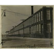 1926 Press Photo New Bedford Mass cotton mill