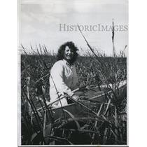1960 Press Photo Janine Abbot, Chippewa Indian Maiden