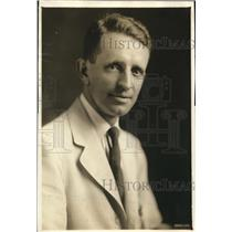 1918 Press Photo Russell T Edwards of Wash DC