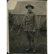 1915 Press Photo Plattsburg NY Nelson O'Shaughnessy at Military training camp