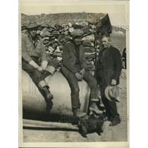 1927 Press Photo of L-R James Traynor, Frank Frank Horton Jr., and Frank Horton