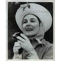 1964 Press Photo Maggie Hayes Film Actress On Flipper - orp16575