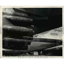 1959 Press Photo Boeing 7007 jet propelled US Weather Lab plane