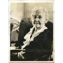 1935 Press Photo Mrs.Fletcher M. Johnson,Golden Rule Mother's Day Committee