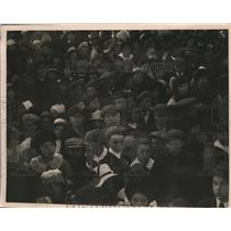 1919 Press Photo Medicine Hat Alberta Canada schoolkids to meet Prince of Wales