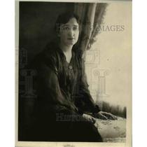 1919 Press Photo Mrs. Lincoln G. Valentine, prominent social leader