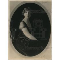 1918 Press Photo Mrs Fetine Santoris wife of grand nephew of Gen Grant