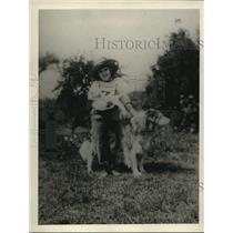 1922 Press Photo Dorothy Oemusbee age 7