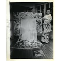 1979 Press Photo Mrs Asago Dozono, president of Velede Club - ora20636