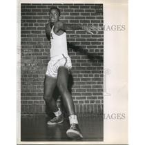 1954 Press Photo Morris Culp Basketball Beman Center - ora12228