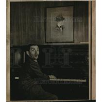 1920 Press Photo Piano used by song writer Irving Berlin - ora01077