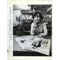 1980 Press Photo Diana Green publishes Parents' Choice in her home - ora29045
