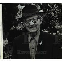 1982 Press Photo Joseph Justin, 90, of Sandy - ora47275