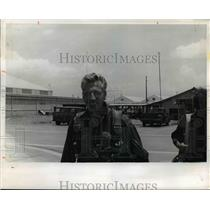1972 Press Photo Gordon Weed, jet pilot in Vietnam
