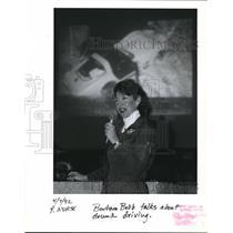 1992 Press Photo Barbara Babb - ora04528