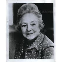 1972 Press Photo Helen Hayes, first lady of the American theater - ora34843