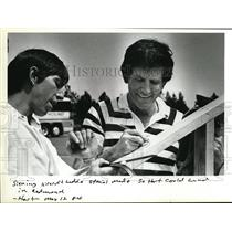 1984 Press Photo Senator Gary Hart - ora32243