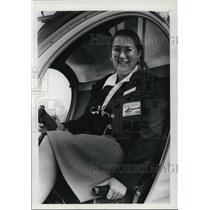 1972 Press Photo Betsy Johnson Three year Pilot U.S. Helicopter - ora42938