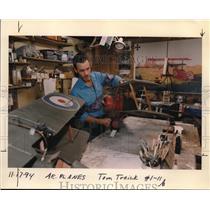 1994 Press Photo Paul Edgerly, planes - ora20197