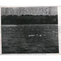 Press Photo Major Lloyd Hill, Niagara River Daredevil