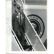 1974 Press Photo Gerald Ford Air Force One - ora29585