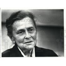 1981 Press Photo Madame Madeline Milhand