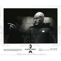 1994 Press Photo Patrick Stewart in Star Trek Generations - 829