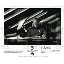1994 Press Photo Patrick Stewart as Captain Picard in Star Trek Generations