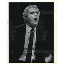1983 Press Photo Hubie Brown coach of NY Knicks - ora02564