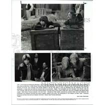1995 Press Photo Jonathan Taylor Tomas, Brad Renfro in Tom and Huck