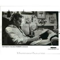 1995 Press Photo Jorge Perugorria stars in Strawberry & Chocolate from Miramax