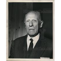 1959 Press Photo Louis Couhe chairman of Paris Airport Authority - ora12591