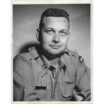 Press Photo Capt Jack E Deahl Oregon National Guard Aviator - ora18062