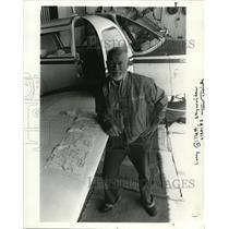 1987 Press Photo Larry Gillett - ora26717