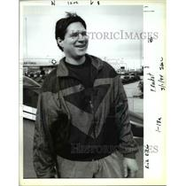 1994 Press Photo Rick Kikes Rocket - ora46763