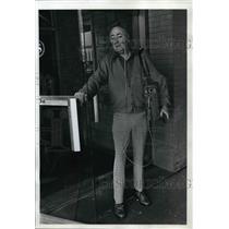 1976 Press Photo Jack Hurd Moderator KKEY radio talk show - ora42820
