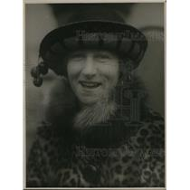 1925 Press Photo Mrs. H. P. Hansen, wife of Movie Magnate of Honolulu