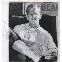 1959 Press Photo Tommy Davis 49 ers - ora18439