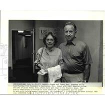 1989 Press Photo Joanne and Thomas Root - 634
