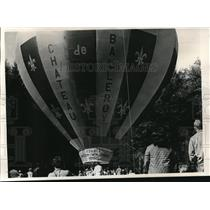 1973 Press Photo Colorful gondola for Malcolm Forbes' hot air balloon - ora29246