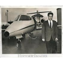 1967 Press Photo Dan Hanna President pilot Hanna Enterprises - ora32733